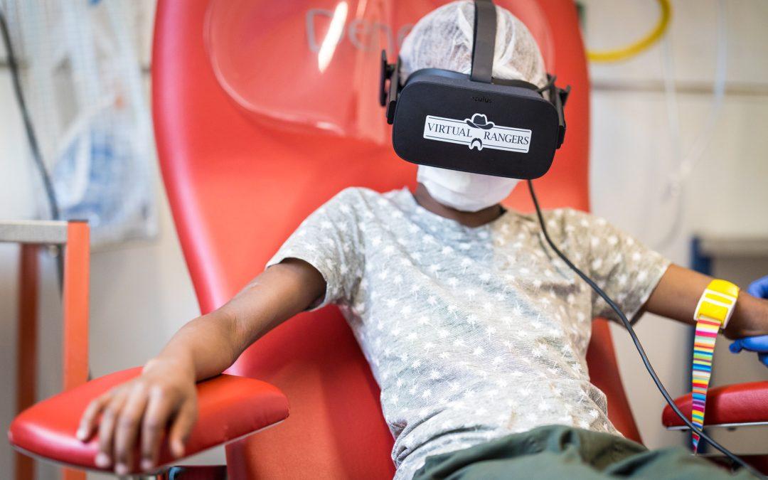 La réalité virtuelle en pédiatrie